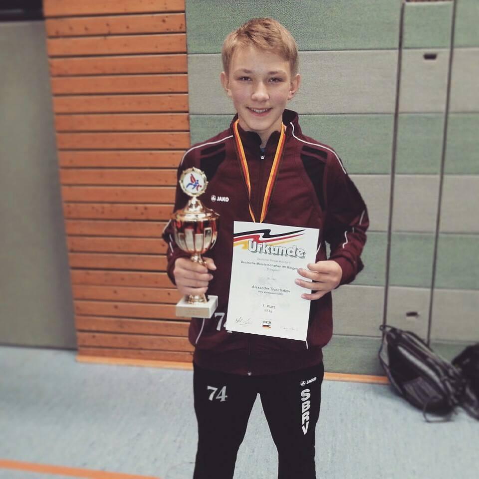 Deutscher Meister Alexander Truschakov