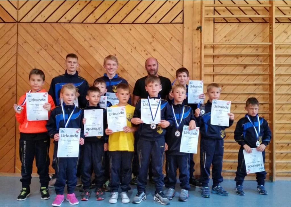 ASV Jugendringer beim Wasserfall-Jugend-Turnier 2015 in Triberg