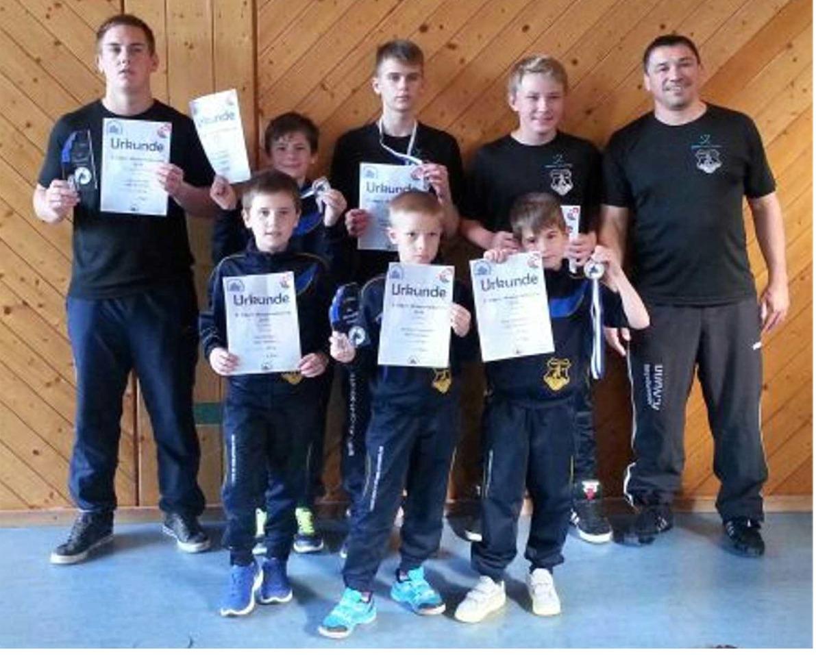 ASV Jugendringer beim Wasserfall-Turnier in Triberg.