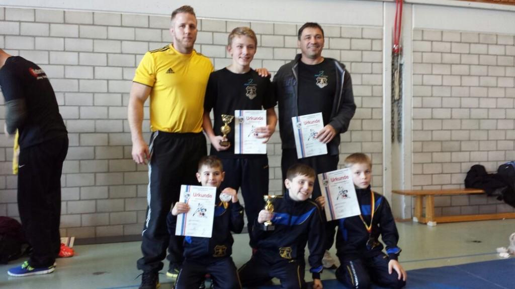 Jugendringer bei Bezirksmeisterschaft 2015